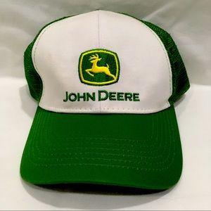 John Deere Snapback Hat Cap Adjustable Unisex